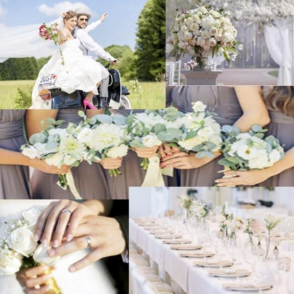 Hochzeitsfotografie Collage